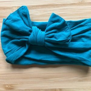 Other - Baby Bling Bow turquoise